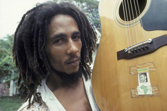 Happy 70th Birthday to Bob Marley, born in 1945. Unseen photos of the Reggae star: