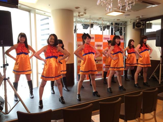 ダイコクドラックのイメージガールユニット『DDプリンセス』CD/DVDデビュー!  DDPシアターでパフォーマンスショー。❷ http://t.co/Ymo5pnEXBG