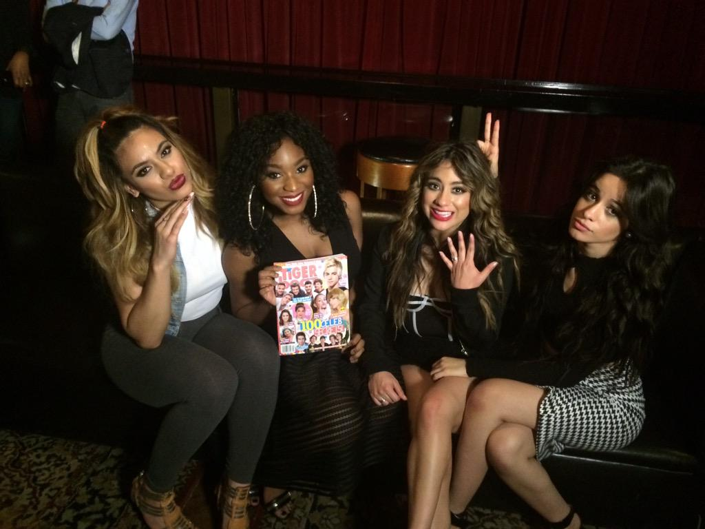 Congrats @FifthHarmony! We ❤️ you! Thanks for inviting us to party with you tonight, we're having a blast!