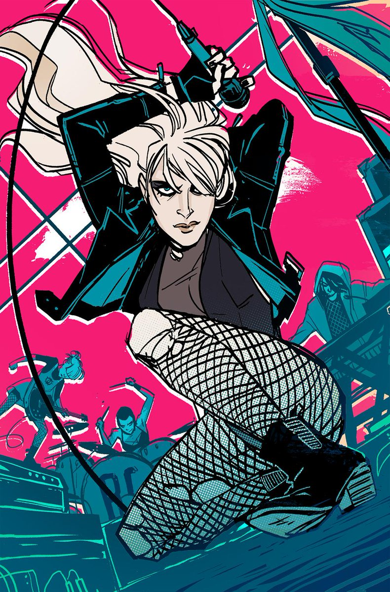 BLACK CANARY series coming to DC this June! By @brendenfletcher and me! Kick ass, rock 'n' roll, punch punch punch. http://t.co/oE3mzRXspX
