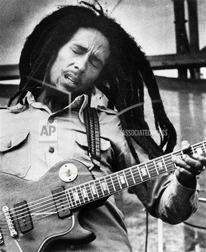 Happy birthday to a legend: Bob Marley would have turned 70 today.
