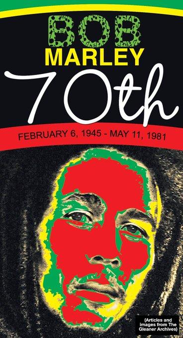 Happy 70th Birthday Bob Marley