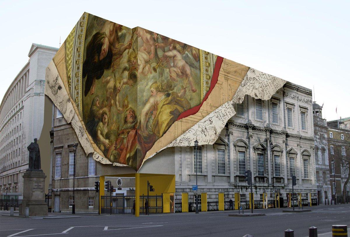 London building to get super-cool trompe l'oeil wrap revealing history, via @Design_Week: : http://t.co/a1q4WFpRg8 http://t.co/R1ZjIko4wY
