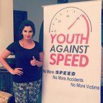 Youth Against Speed. Happy to be associated with this cause and movement.. #speedkills #becareful http://t.co/hc6wfXonLp