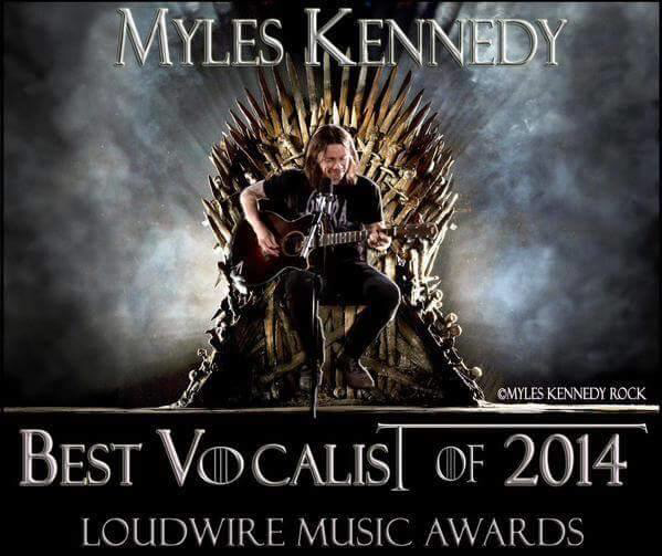 Congrats to the one and only @MylesKennedy for winning vocalist of the year yet again! http://t.co/aoFiSdGx53
