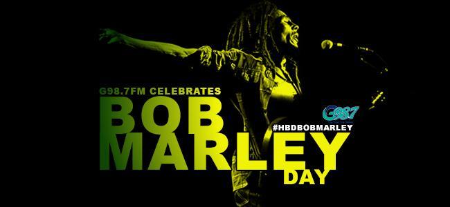 Happy #BobMarleyDay! #Marley70 #BlackHistoryMonth http://t.co/gxd6a7GWHy