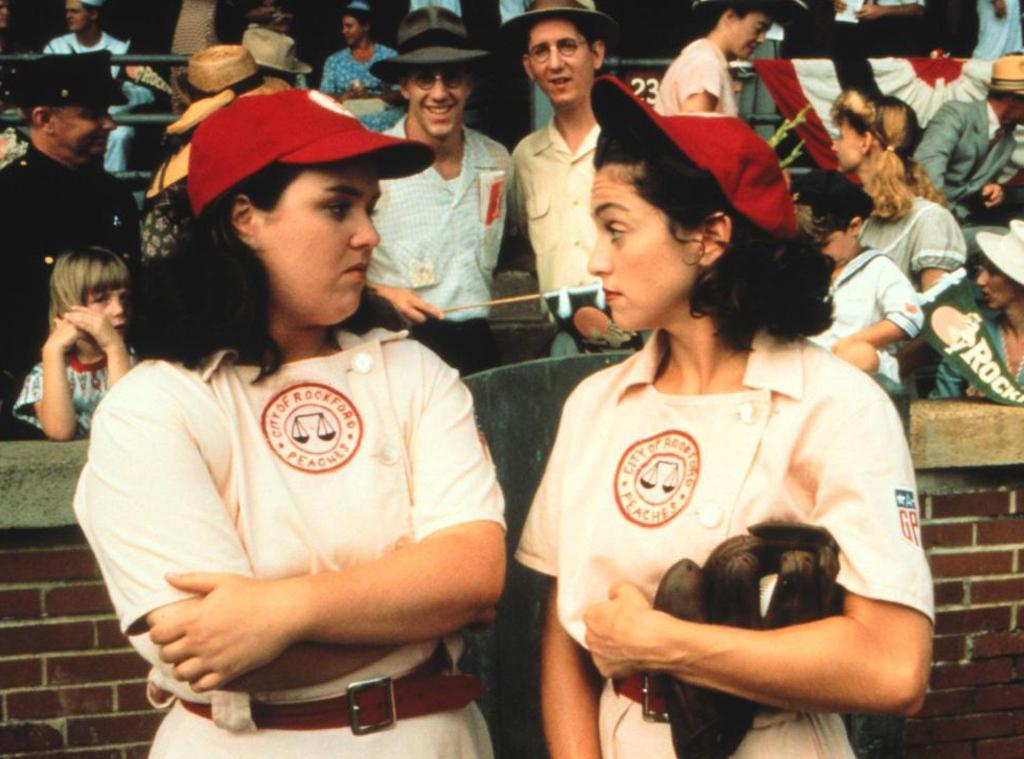 A League of Their Own's Rosie O'Donnell and Geena Davis reunite on The View:
