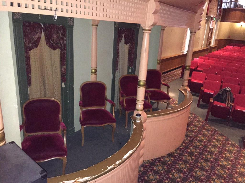 so cool to be playing the same theater where Brian Williams saw John Wilkes Booth shoot President Lincoln http://t.co/5s7yhQofue