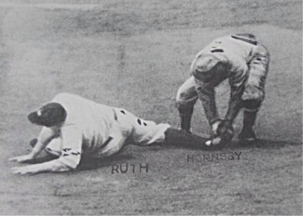 """Happy 120th birthday to """"Babe"""" Ruth. Here you are, making the final out of the 1926 WS on a SB attempt, like an ass. http://t.co/wA4JS0mrXl"""