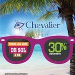 Encuentra en Óptica Chevalier todos los aros de Sol a un 30% de descuento. Promoción válida del 6 al 28 de febrero http://t.co/pz8emRwFKx