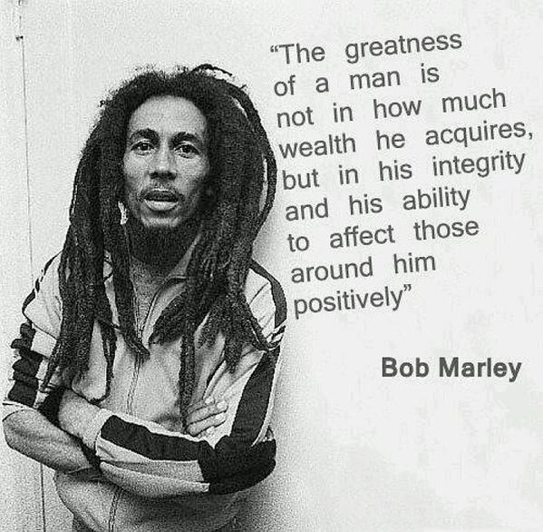 Bob Marley would\ve been 70 years old today. Happy birthday to the Legend.