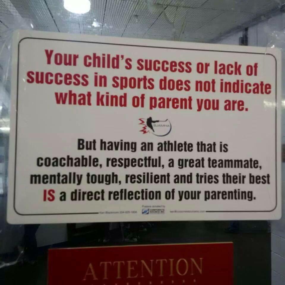 All parents, coaches and AD please see this. Fabulous advice http://t.co/P48zeuAGui
