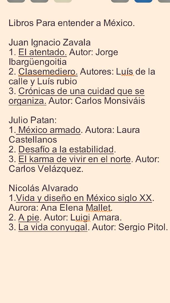 Aquí los libros que recomendamos esta noche para entender al México actual. A leer! http://t.co/RAG8c0A884