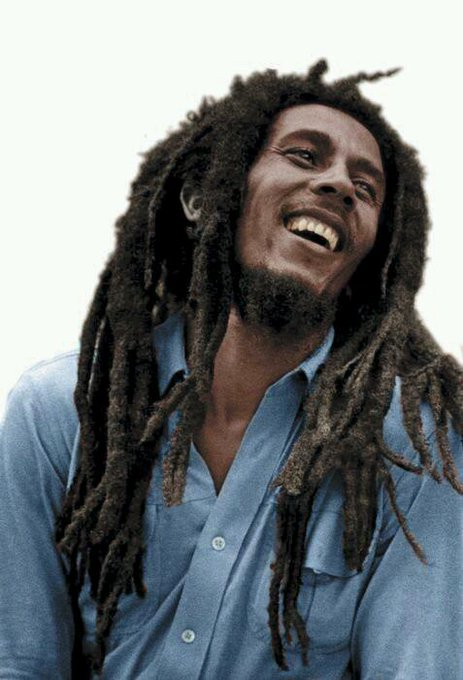 Let\s all light up a bowl and wish Bob Marley a happy birthday.
