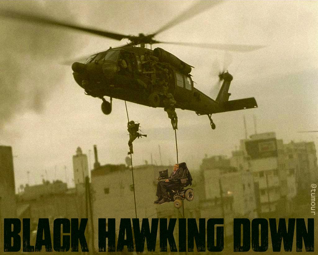 Black Hawking Down  #MakeAFilmUncomfortable http://t.co/3KtajHGI6x