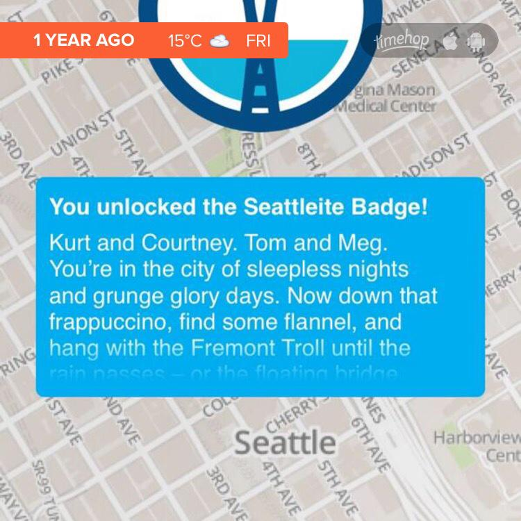 Remember the good OL days when @foursquare drove city exploration looking for badge achievements?  I miss that. http://t.co/FBo1yKsxvc