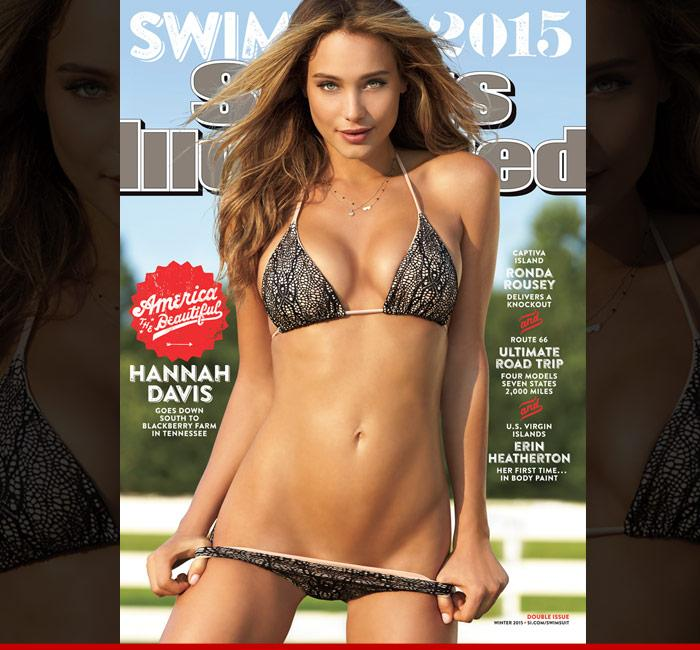 10 swelteringly sexy shots of si swimsuit cover babe, hannah davis -  scoopnest.com