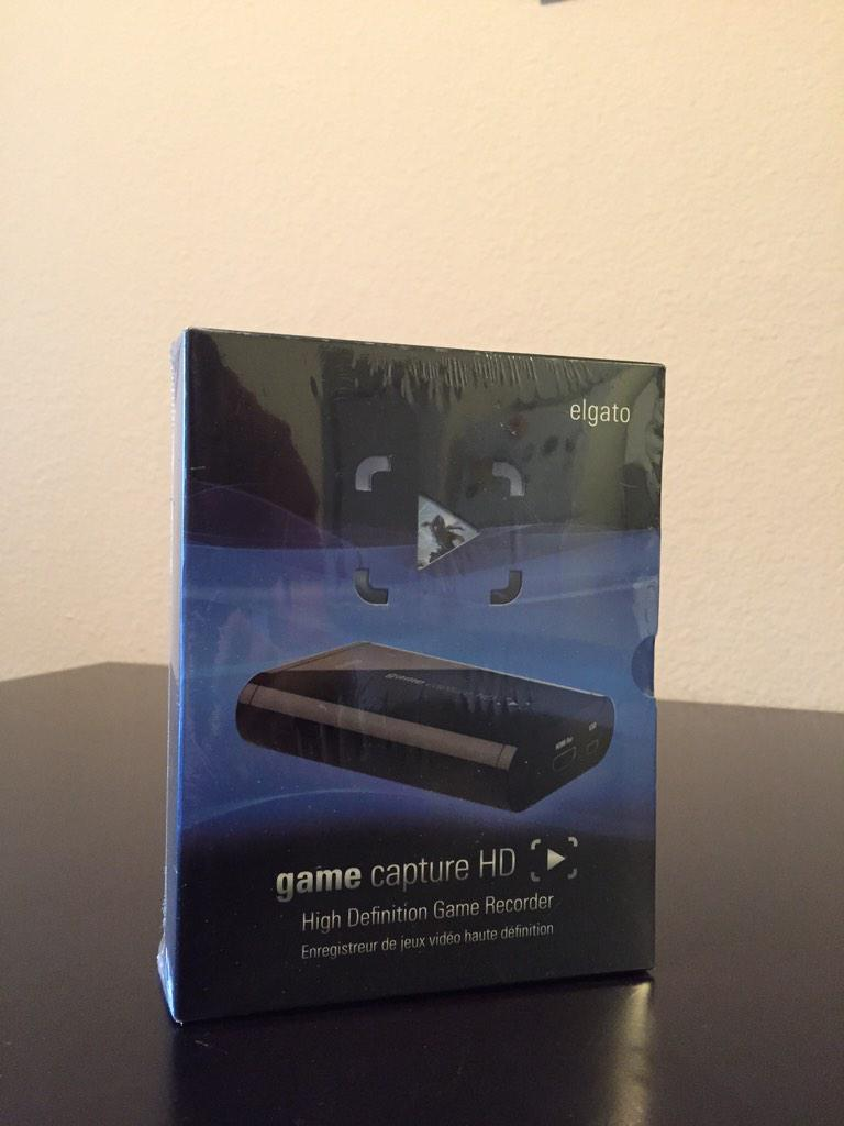 Giving away this #ElGato Game Capture HD. RT and follow if you want to win it. Ends tomorrow morning http://t.co/c0dDd9iqqF