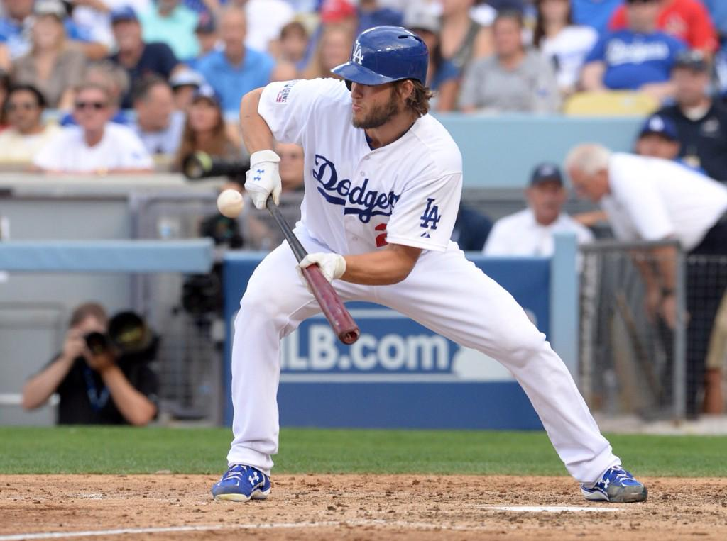 In 2014 #ClaytonKershaw had a higher on-base percentage than opposing batters did.  #FaceofMLB #Dodgers http://t.co/KYhzCUywTR