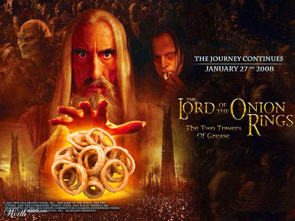 """""""@NeoEdmund1: Lord of the Onion Rings #lessinterestingfilms #LOTR http://t.co/SOaW0TdxUf"""" @AnneStull"""