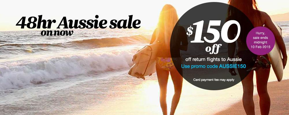 Book your next Australian escape with our Aussie sale on now