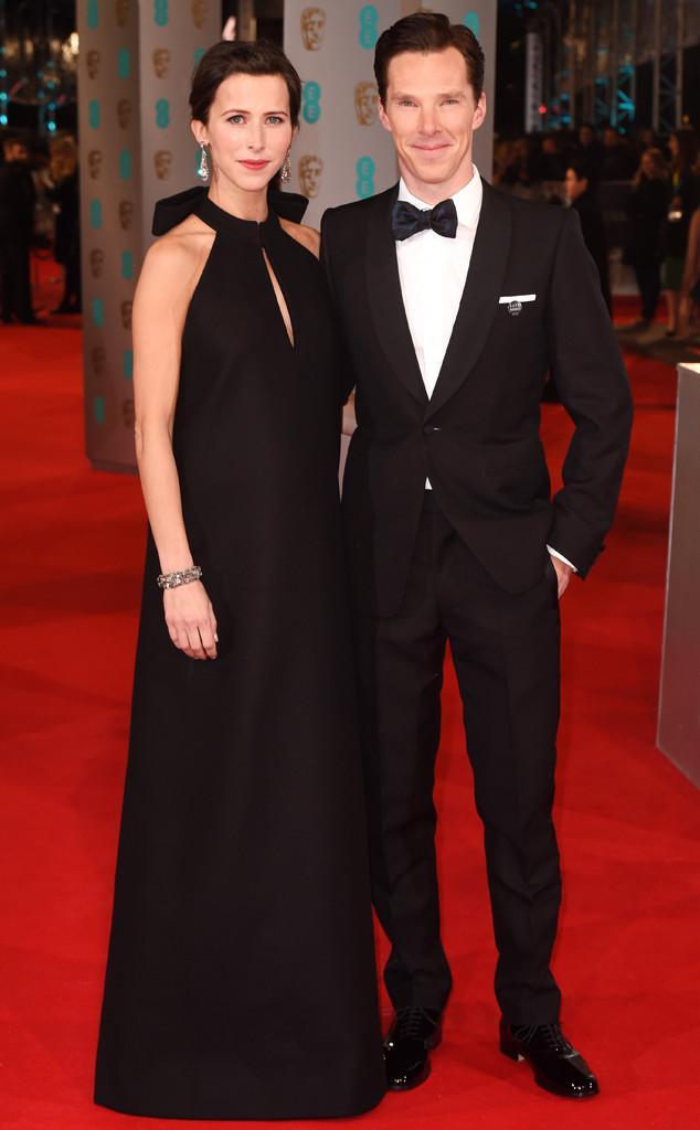 Benedict Cumberbatch & Sophie Hunter (and her babybump) at the BAFTAs!