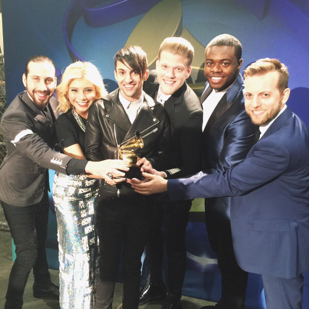WE ARE GRAMMY WINNERS! WE LOVE YOU GUYS SO MUCH! THANK YOU FOR ALWAYS BELIEVING IN US!