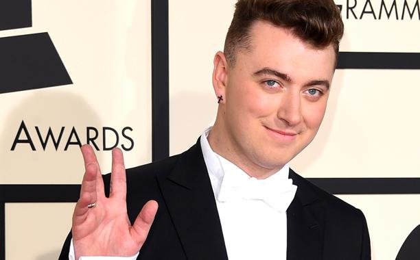 .@samsmithworld reveals 'incredible' backstage moment with Stevie Wonder at the Grammys: