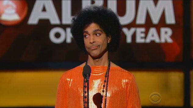 """@100JAMZ242: Prince's face after he announced Beck winner #AlbumOfTheYear #GRAMMYs #Ohnotheydidnt #MiddayJuice http://t.co/p03TD0aFcL"""