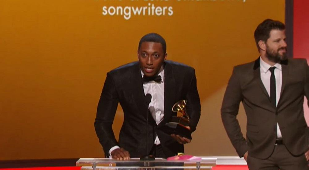 Lecrae acceptance speech after winning Grammy Award for 'Messengers' http://t.co/cUOlc3DnPB // @lecrae @reachrecords http://t.co/fSCUNNc003