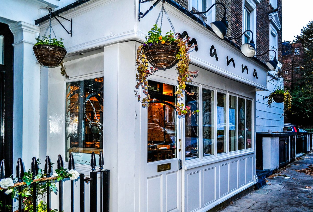 Manna Vegetarian Restaurant London's best vegetarian food