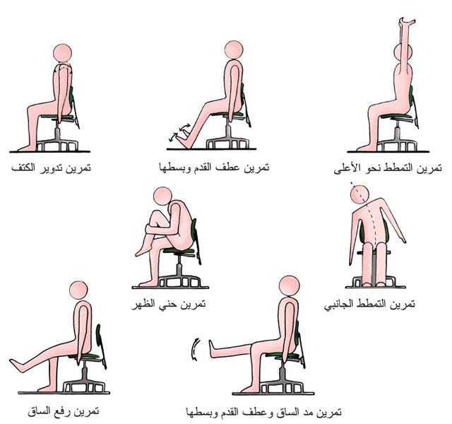ممارسة بعض التمارين البسيطة يساعد في تخفيف إجهاد العضلات الناتج عن الجلوس على المكتب لمدة طويلة #اليوم_الرياضي_للدولة http://t.co/uQ1yXwX4Md