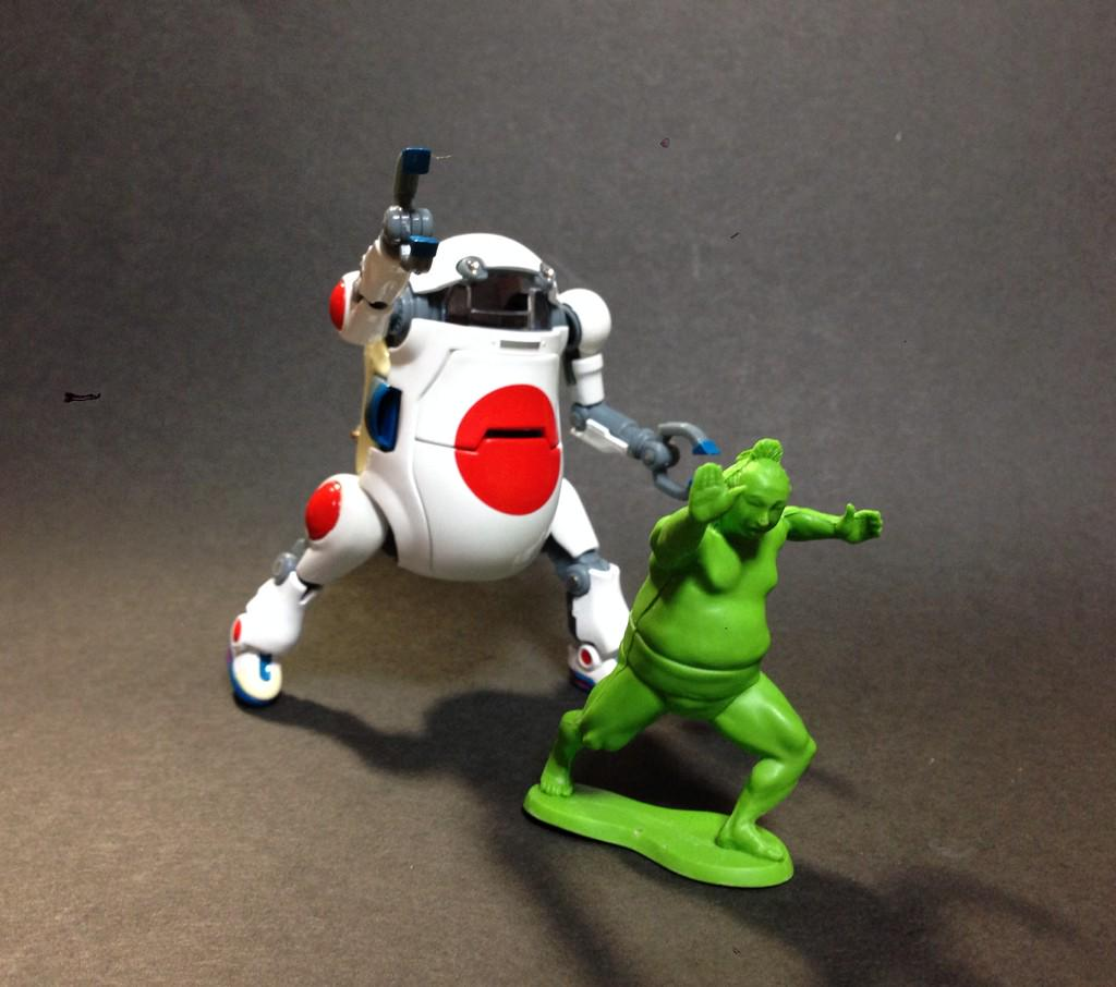 RT @showbit1019: ロボット格闘技に参戦だッ‼︎ #ウィーゴ http://t.co/OOzpXieZak