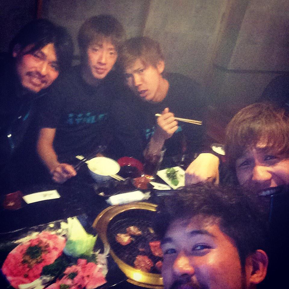 焼肉会!! http://t.co/iIDPZ6tUKI