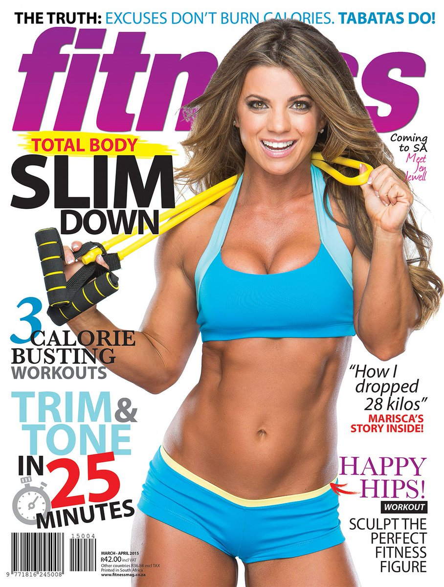 .@fitnessjewell is the beautiful face and body of our March/April issue. On sale Monday, 23 January. http://t.co/D72Z5Ld0Fp