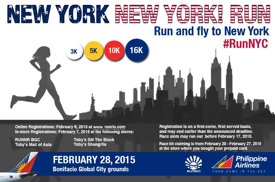 Run like you're in Central Park on 2/28/2015, join us in our New York New York! Run.