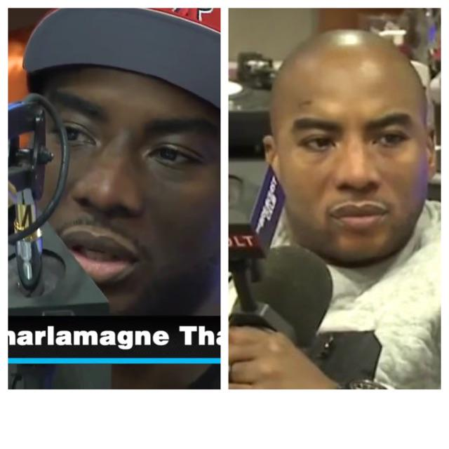 Soz u had to do this . Charlamagne before and after ... Bleaching right ?