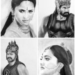 RT @vamcchow: @RanaDaggubati pencil sketches of Bahallaldeva Bahubali Devasena by me Rana garu time taken34hrs http://t.co/jU8xZzyKw1
