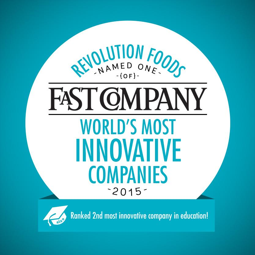 so proud to announce that we were just named one of @fastcompany's most innovative co's!  http://t.co/8yZPsAl8l5 http://t.co/Ywo1GuSGO2