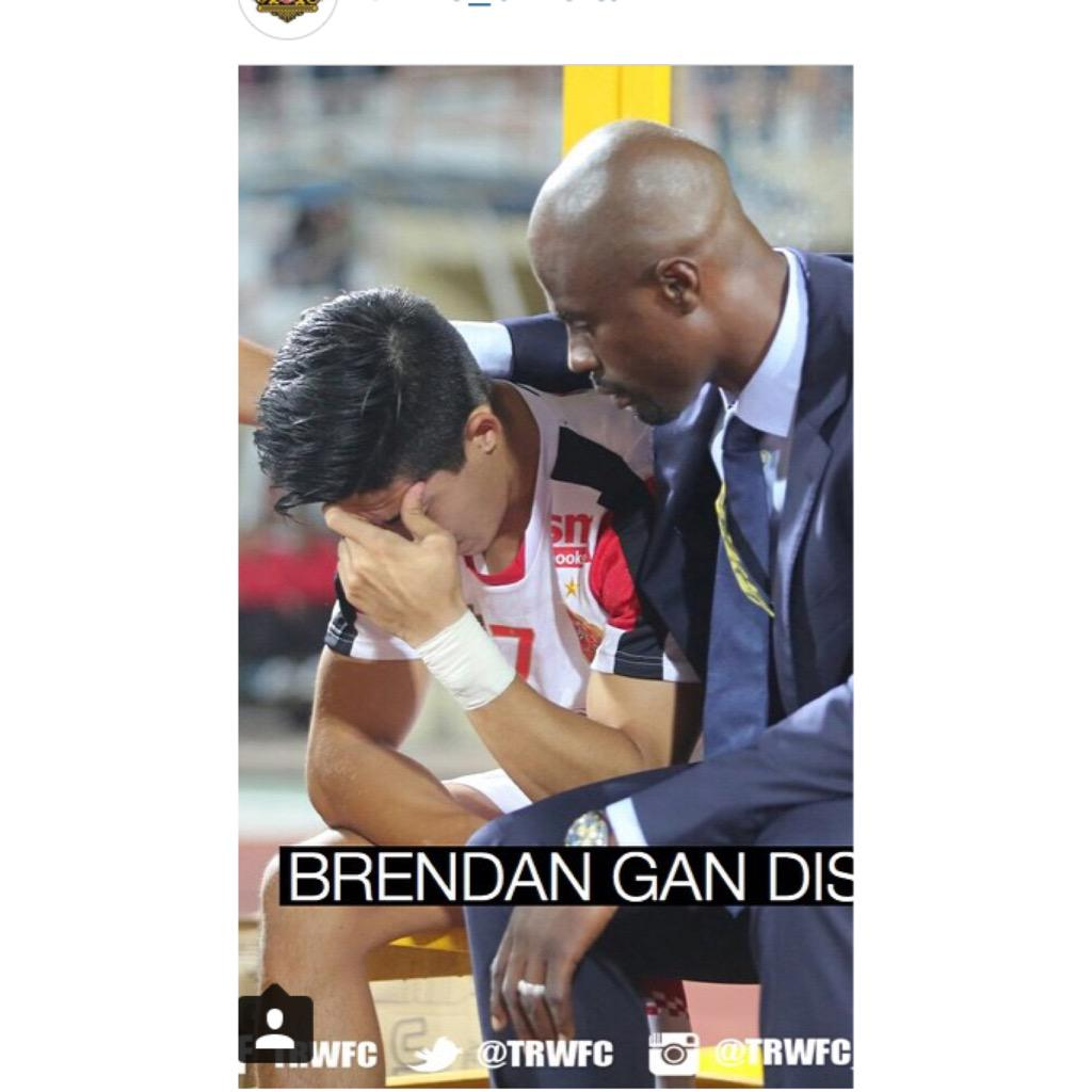 It's heartbreaking to lose a quality player like @Brendan_Gan. He will be hugely missed.We wish you a speedy recovery http://t.co/z837jtajdF