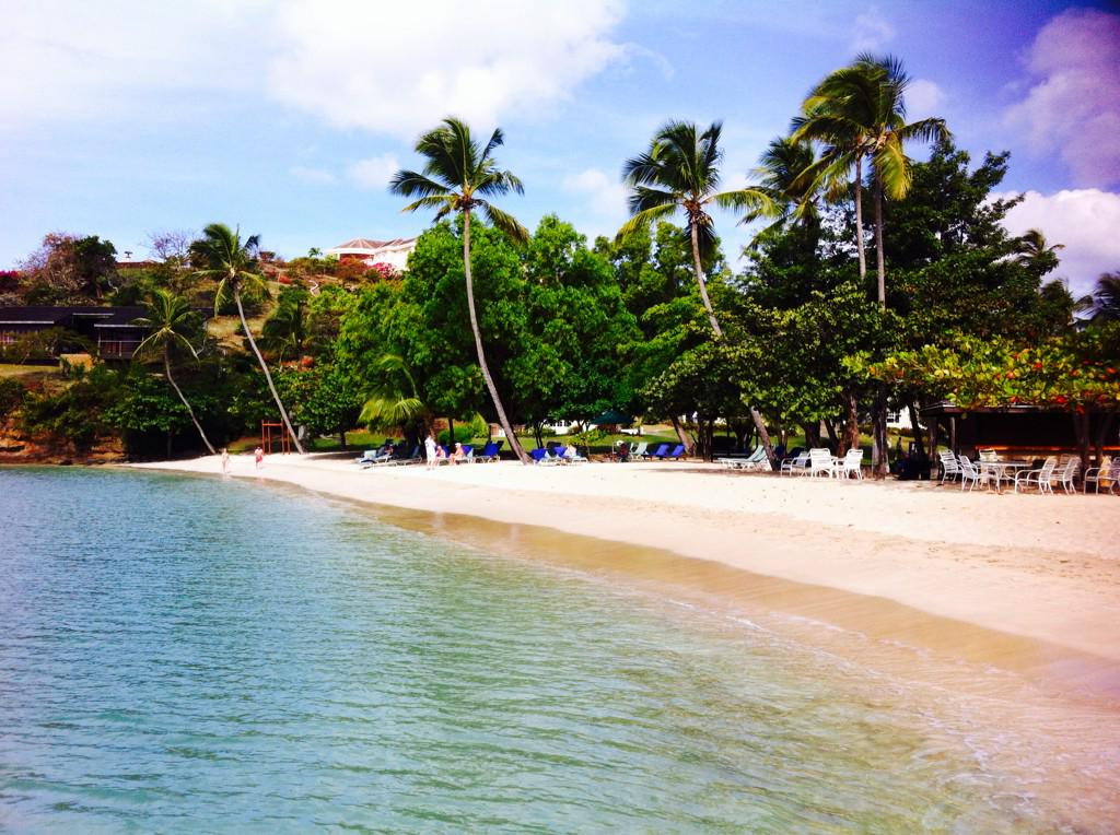 Morning beach walk! THX for the warm Grenadian hospitality @puregrenada @CalabashHotel @EthicalIdeas1 @PetiteAnse http://t.co/Nf7gqsQllZ