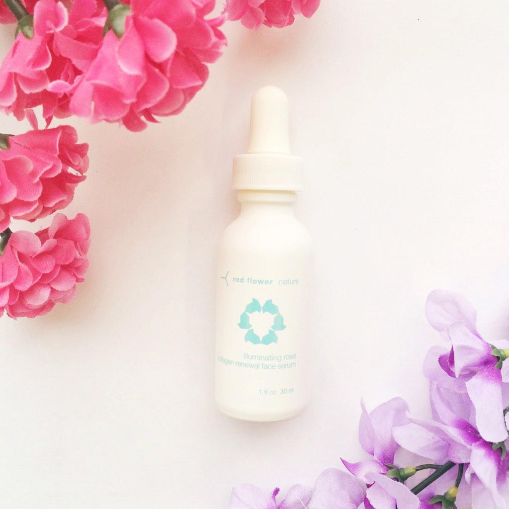 Enter to #win a bottle of Rose Collagen Serum! Follow @Luxe_Box & @redflowernyc and RT! What's your skincare secret? http://t.co/ewktgWdeFT