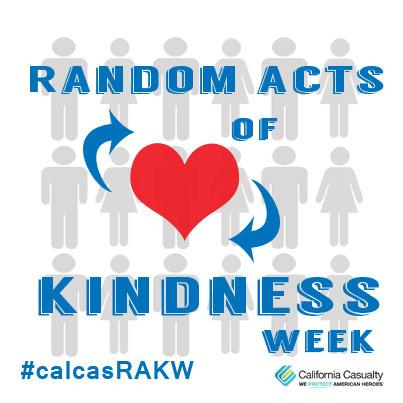 It's Random Acts of Kindness Week! Be Kind and Share a Smile with Someone! http://t.co/hc5L7t7dwX #calcasRAKW http://t.co/s4EjPVs1Ky