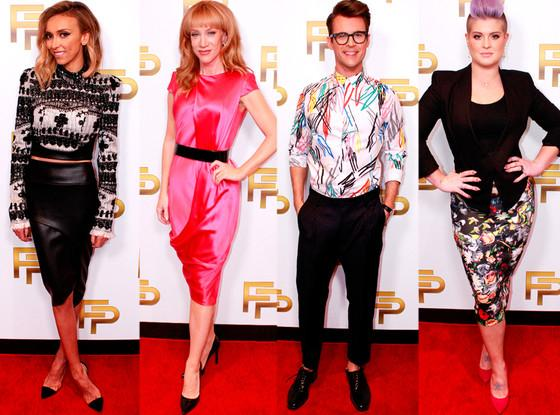 East Coast! Only ONE hour until the brand new FashionPolice Grammy's special! Don't miss it!