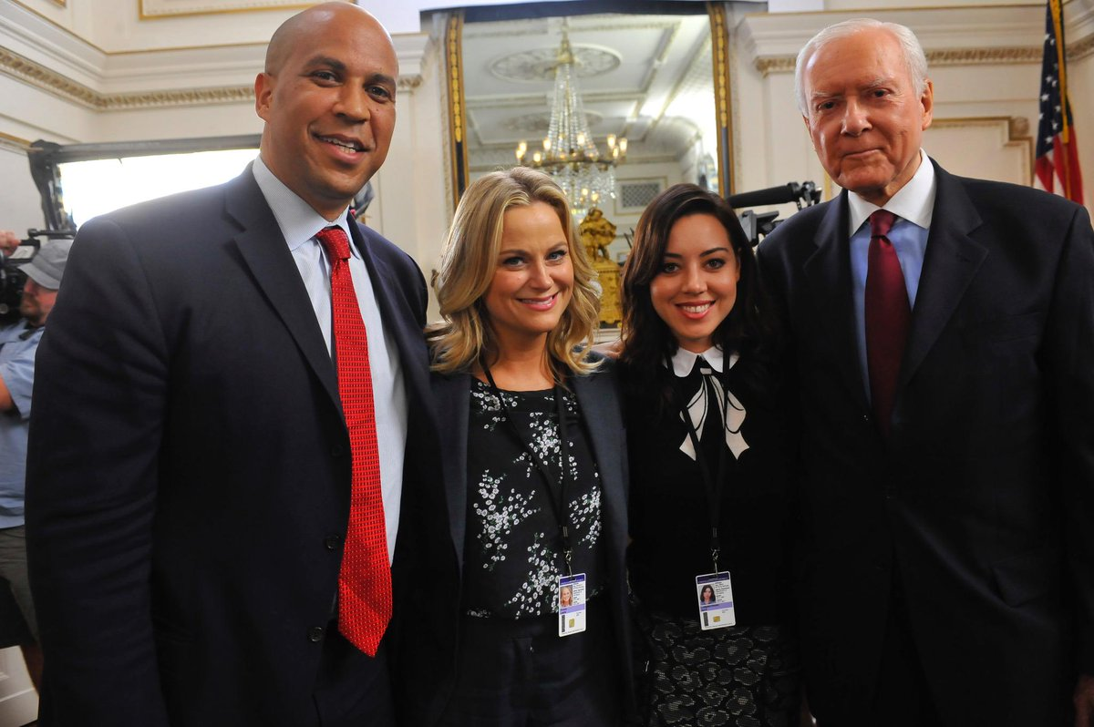 Despite disagreeing on the Antiquities Act, Hatch had a productive meeting with @corybooker and Parks Dept. officials http://t.co/TVFqHdOSEs