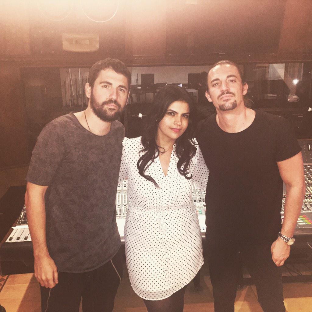 With my Greek Bros!! @dimitrivegas Makin sum tunes