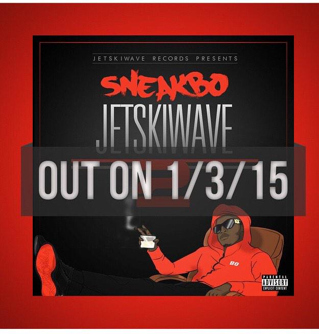 It's official my bro @Sneakbo #jetskiwave2 will drop on 01/03/2015 make sure you get yours