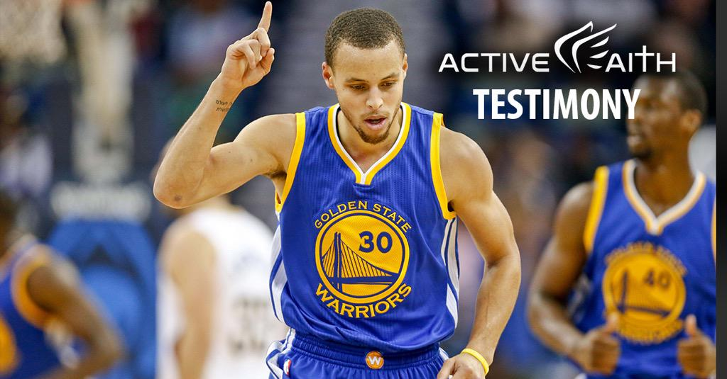 Why does NBA star @StephenCurry30 always point up? See his TESTIMONY episode http://t.co/AbfAdR1Zu5 #InJesusNameIPlay http://t.co/FOIcVrtcIu