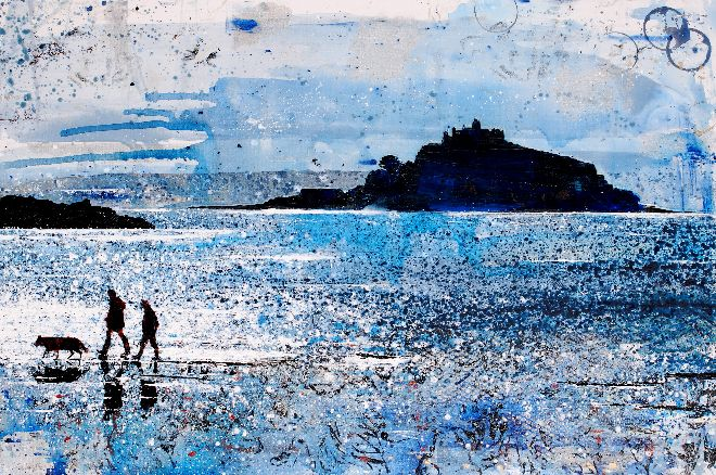 Night Closing In, Mount's Bay, Marazion - Cornwall http://t.co/HBst7x5N8H