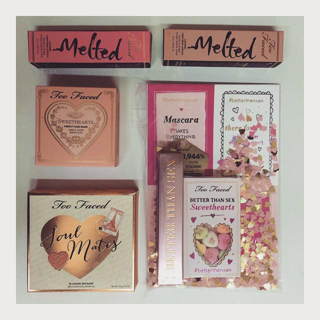 Happy #TransformationTuesday! Get ready for #ValentinesDay with these GORG @TooFaced products-- RT to win them all! http://t.co/CJfijKkBOq
